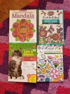 Coloring, drawing books