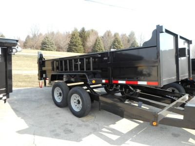 2019 Quality Trailers 83x14 DUMP Equipment Trailer Trailers Belvidere, IL