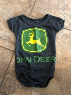 John Deer Like New Playsuit. Size 18-24 Months