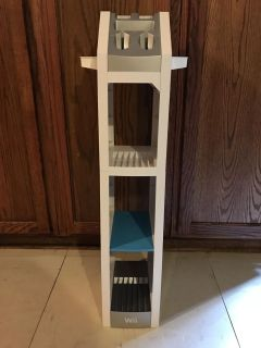 Nintendo Wii Gaming Tower Organizes Your Gaming Collection 25.5 x 11.3 x 11.3 inches