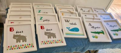 Brand New Wood Kids Decor French Valley