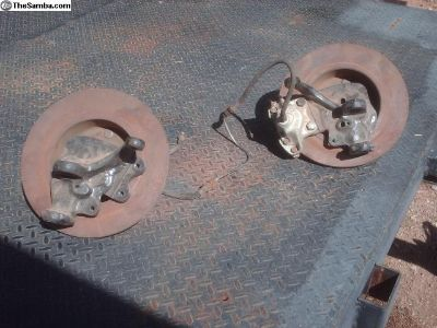 dropped spindles, rotors with porsche bolt pattern