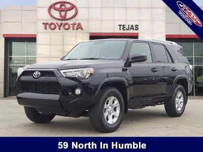 2018 Toyota 4Runner Limited (Midnight Black)