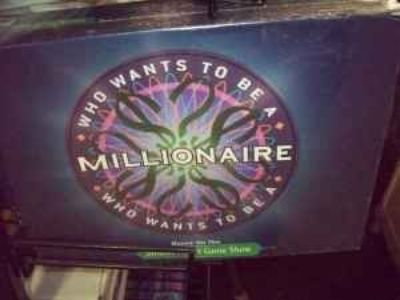 Who wants to be a Millionaire Board game New