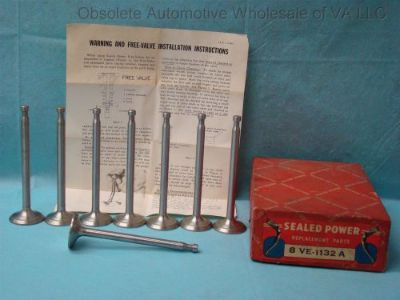 """Sell 1954 1955 Ford Truck 279 317 Exhaust Valve Set 8 Y-Block V8 F800 F900 .003"""" over motorcycle in Roanoke, Virginia, United States, for US $160.00"""