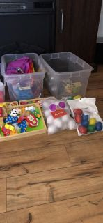 Lot of fine motor skills and crafts. Great for classroom and daycares