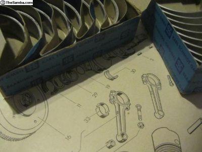 RodBearings KarlSchmidt 0.25mm/1.00mm:NOS