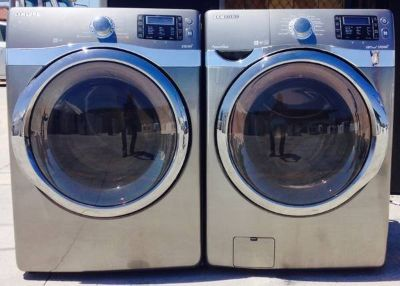 Samsung Frontload Washer and Dryer