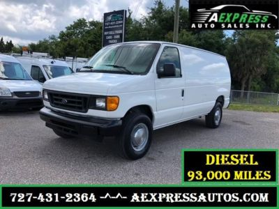 2005 Ford E-350 SD (White)