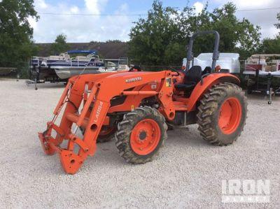 2017 Kubota M5660SUD 4WD Tractor