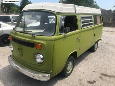1978 VW Volkswagen Westfalia Pop Top Camper Van