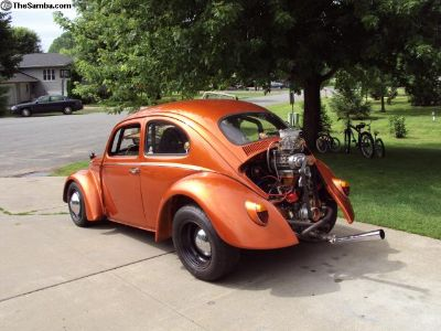 1963 VW Bug 2276 With superflow Heads