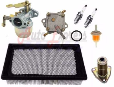 Purchase EZGO MARATHON GOLF CART TUNE UP KIT 1991-1994 4 CYCLE AIR FILTER CARBURETOR PUMP motorcycle in Lapeer, Michigan, United States, for US $112.98