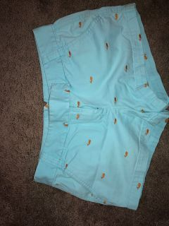 J Crew chino fish shorts