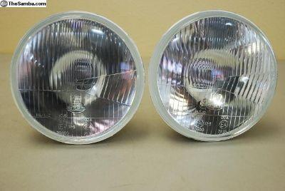 """7"""" H4 Headlights w/City Lights Upgrade"""