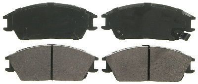 Find Disc Brake Pad-QuickStop Front WAGNER ZX497 motorcycle in Azusa, California, United States, for US $34.59