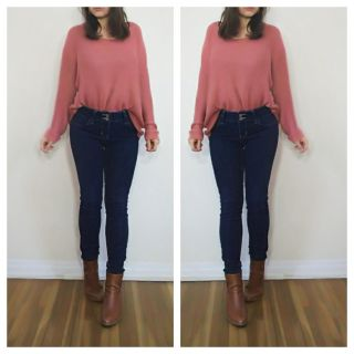 Midrise Skinny Jeans size 5/6