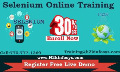 Selenium Webdriver Online Training Course BY H2kinfosys