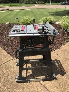"10"" Table Saw with Portable Stand"