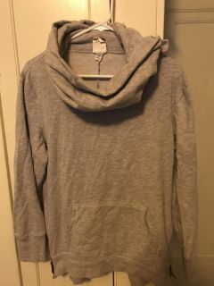 Old navy cowl funnel neck hoodie large