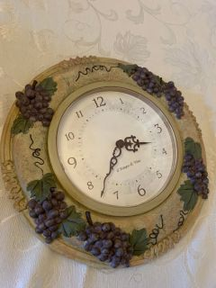 Italian clock, about 12 inches