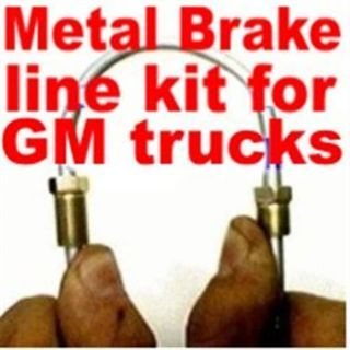 Buy Brake line kit Chev GMC trucks 1976 1979 1978 1977 1980 -replace bad lines!!! motorcycle in Duluth, Minnesota, United States, for US $67.99