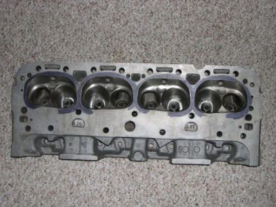 Sell NOS gm double hump 202 heads for small block Chevy motorcycle in Central City, Iowa, United States