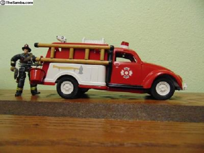 Tonka Custom Built VW Bug FIRE TRUCK Tin Toy