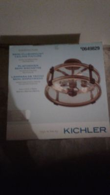 Light fixture. New in box