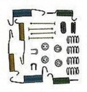 Purchase LOT of 5 Kits ONLY $3.99 EACH BBP H7224 BRAKE DRUM HARDWARE FORD LINCOLN MERCURY motorcycle in Gettysburg, Pennsylvania, US, for US $19.95