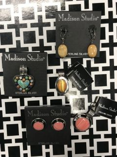 NWT Madison Studio Sterling Silver Jewelry