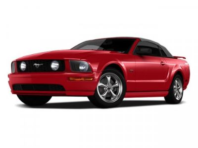 2009 Ford Mustang GT Deluxe (Red)