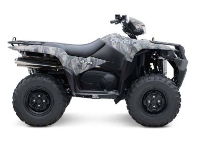 2014 Suzuki KingQuad 750AXi Camo Power Steering Utility ATVs Grantville, PA