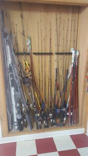 Rods and reels