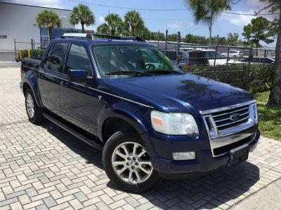 2007 Ford Explorer Sport Trac Limited (Blue)