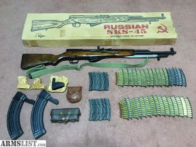For Sale: Russian SKS and Accessories