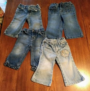 Girls 12-18 month Jeans