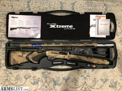 For Sale: Beretta A400 Xtreme Unico w/ Kick Off Optifade Marsh
