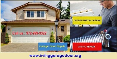 Discount Rate on Garage Door Spring Replacement Dallas