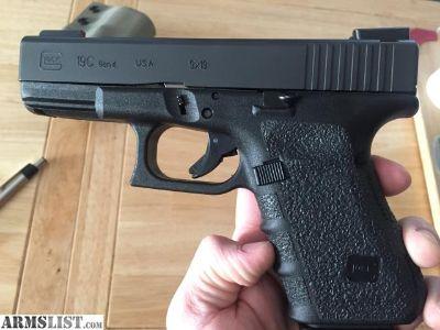For Sale: FS/FT Glock 19C Gen 4