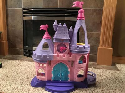 Little People Disney Princess Castle and characters