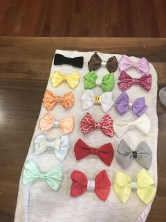Hand made bows