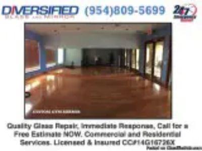 MIAMI WINDOW REGLAZING BROWARD GLASS and MIRROR REPAIR and REMOV
