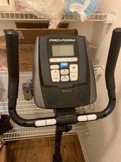 Digital exercise bike