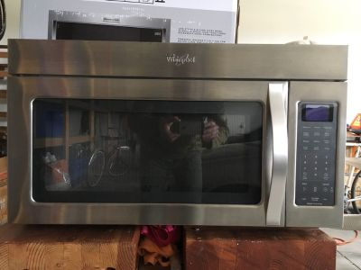 Whirlpool Microwave Oven, FREE
