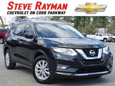 2017 Nissan Rogue SV (Magnetic Black)