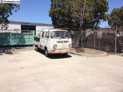 68' Double Cab Solid Very Little Rust