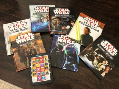 Star Wars books with reader