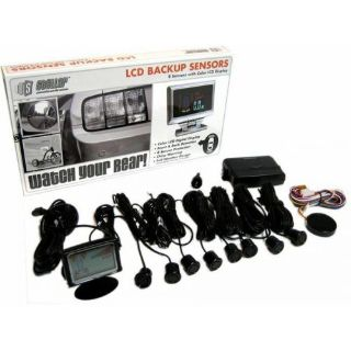 Buy Front and Rear 8 Sensor Back Up Sensor System with Lcd Display gasser parts motorcycle in Portland, Oregon, United States, for US $250.00