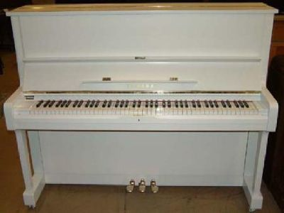 $300 OBO Old Fashioned White Piano (Northwest Akron)